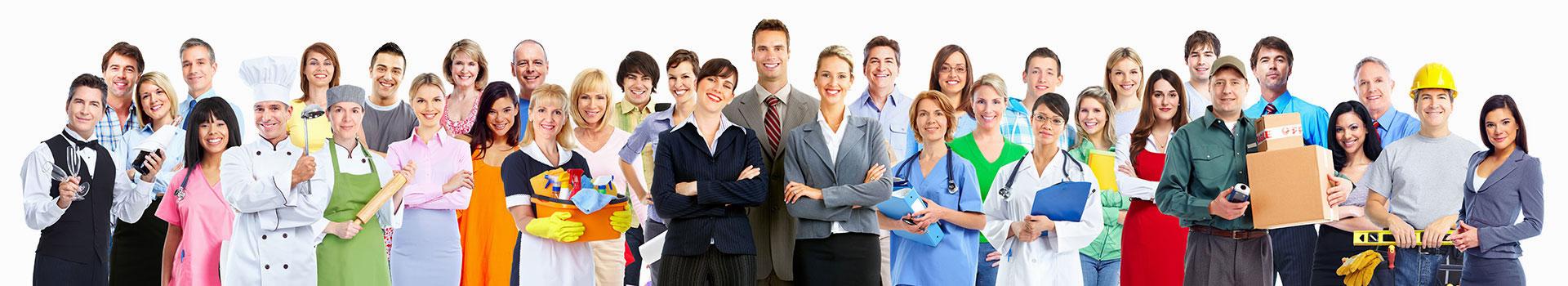 Trabalhadores de Várias Profissões