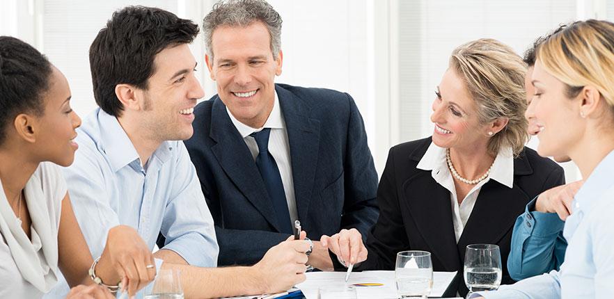 Funcionários Felizes Com Sua Empresa